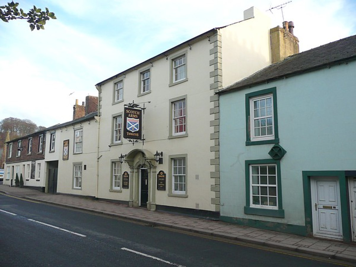 The Scotch Arms, Main Street, Brampton - geograph.org.uk - 1148109.jpg