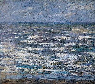 Jan Toorop - Image: The Sea 1887 Jan Toorop