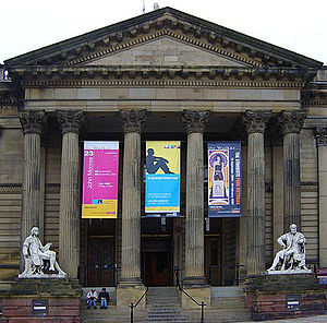 The Stuckists Punk Victorian - The Walker Art Gallery during the show.