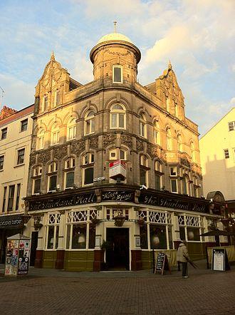 Gilbert Smith Doughty - The Thurland Hall, Pelham Street, Nottingham 1898-1900