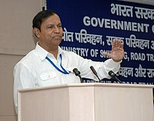 The Union Minister for Shipping, Road Transport and Highways, Shri T. R. Baalu addressing at a Conference of the Ministers in charge of National Highways of all the StatesUTs, in New Delhi on June 24, 2008.jpg