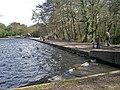The dam at Blackroot Pool - geograph.org.uk - 1755307.jpg