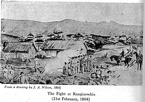 Rangiaowhia - Image: The fight at rangiaowhia