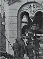 The removal of 5000 kg bell from St Volodymyr's Cathedral Kiev USSR 1930.jpg