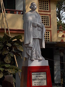 The statue of Girish Ghosh.JPG