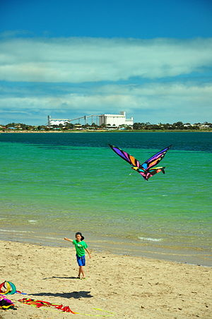 Ceduna, South Australia - Murat Bay in Ceduna looking over to Thevenard during Oysterfest 2012