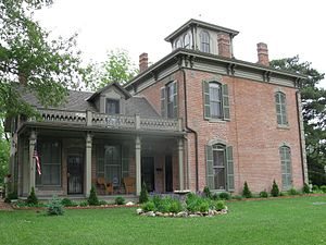 Capt. Thomas C. Harris House - The home after restoration.