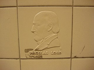 Thomas Lord English cricketer, founder of Lords Cricket Ground