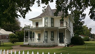 National Register of Historic Places listings in Blaine County, Oklahoma - Image: Thompson Benton Ferguson House ne corner