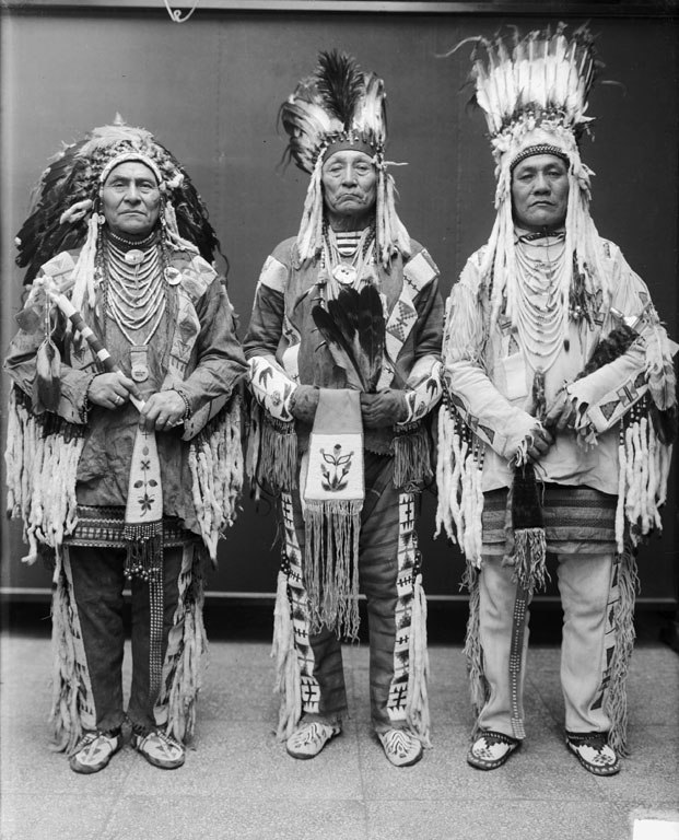 Three Blackfoot Chiefs