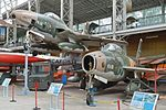 Thunderstreak and Thunderflash – Brussels Air Museum (34392194670).jpg