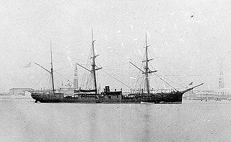 USS Ticonderoga (1862) - USS Ticonderoga