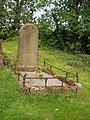 Tideswell Churchyard Gravestone - geograph.org.uk - 340940.jpg