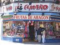 Tienda El Maño - Frutas de Aragón.JPG