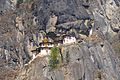 Tiger's Nest or Lair - Paro Buddhist Taktsang Palphug Monastery sacred site in the upper Paro Valley - panoramio (1).jpg