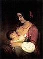 Tikos Gyermekét tápláló anya 1842.jpg