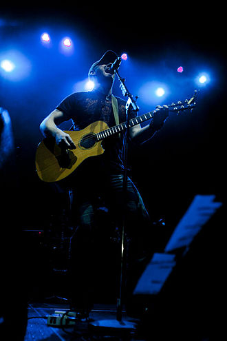 Tim Hicks - Tim Hicks performing live at CMT Hitlist 2013 tour in GM Centre, Oshawa ON