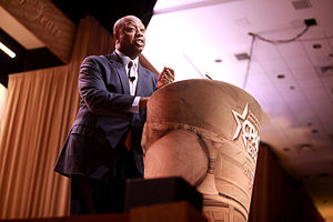 Tim Scott - Scott speaking at the 2014 Conservative Political Action Conference (CPAC) in National Harbor, Maryland