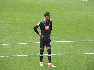 Tom Ince - Ince playing for Derby County in 2017.