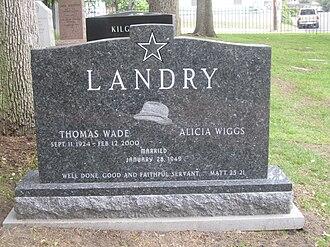 Tom Landry -  Texas State Cemetery