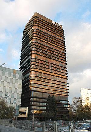 Castellana 81 - Image: Torre del Banco de Bilbao 15