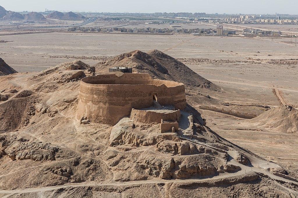 Torre del silencio, Yazd, Irán, 2016-09-21, DD 65