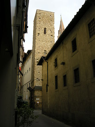 Guilds of Florence - Torre della Castagna, early headquarters of the Priori of the Guilds of Florence