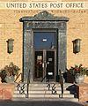 Torrington, Wyoming post office W entrance.JPG