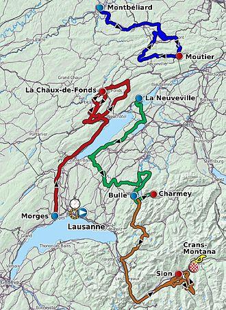 2012 Tour de Romandie - Image: Tour de Romandie 2012