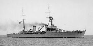 Duquesne-class cruiser - Image: Tourville (cruiser) SLV H91.325 30