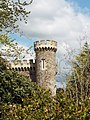 Tower attached to east of Caerhays castle.jpg