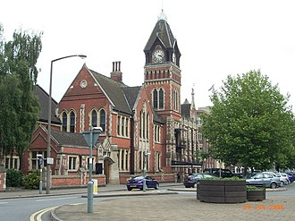 Burton upon Trent - Image: Town Hall geograph.org.uk 352398