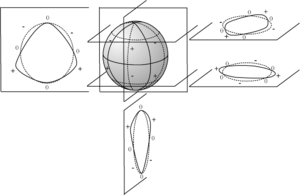 Spherical harmonics - Image: Traces harmonique spherique
