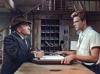 Bad Day at Black Rock - Spencer Tracy and John Ericson in Bad Day at Black Rock