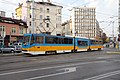 Tram in Sofia mear Macedonia place 2012 PD 012.jpg