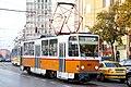 Tram in Sofia near Macedonia place 2012 PD 065.jpg