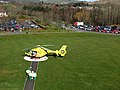 Transferring a patient to a Scottish Ambulance Service helicopter - geograph.org.uk - 731468.jpg