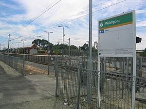 Welshpool railway station, Perth - Image: Transperth Welshpool Train Station