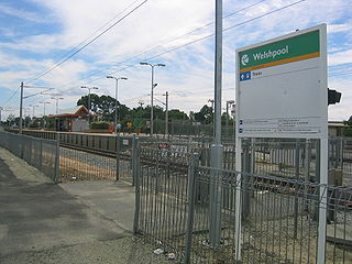 Welshpool railway station, Perth railway station in Perth, Western Australia