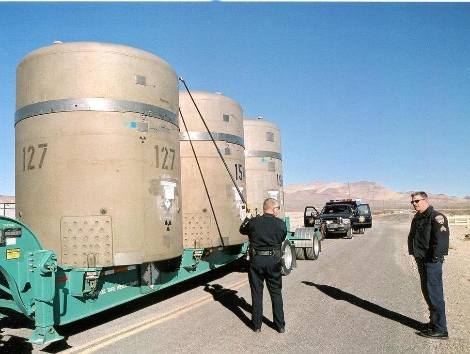 Transuranic waste casks