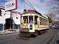 Tranvía de exhibición, en la esquina quilmeña de Brandzen y Mitre (2010)..jpg