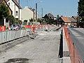 Travaux de la branche vers Vieux-Condé de la ligne B du tramway de Valenciennes en mai 2012 (101).JPG