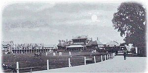 Trent Bridge - Trent Bridge circa 1890.