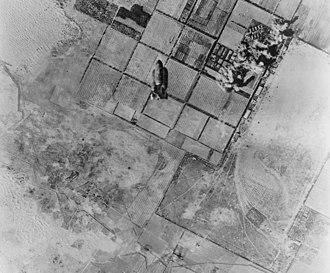 RAF Castel Benito - Castel Benito airport under attack in 1943