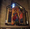 Trittico bizantino di cuoio su legno (Santa Maria Nuova - Viterbo).JPG