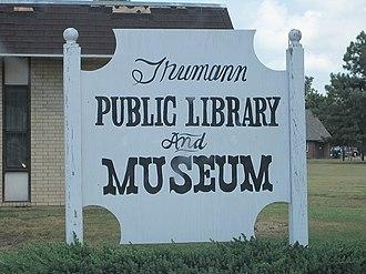 Trumann, Arkansas - Image: Trumann Museum Trumann AR 002