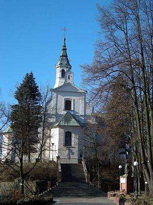 Zaremba coat of arms - Image: Tuliszkow church