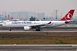 Turkish Airlines, TC-JNE, Airbus A330-203 (28175092039).jpg