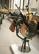 Twin Bren gun anti-aircraft mounting at RAF Duxford
