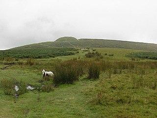 Twmbarlwm hillfort in Torfaen